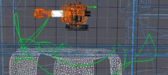 pianificazione automatizzata della riparazione spot del robot e del trattamento dei difetti (pre-)trattamento