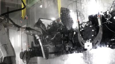 Industrieroboterprogrammierung - Reinigungsroboter